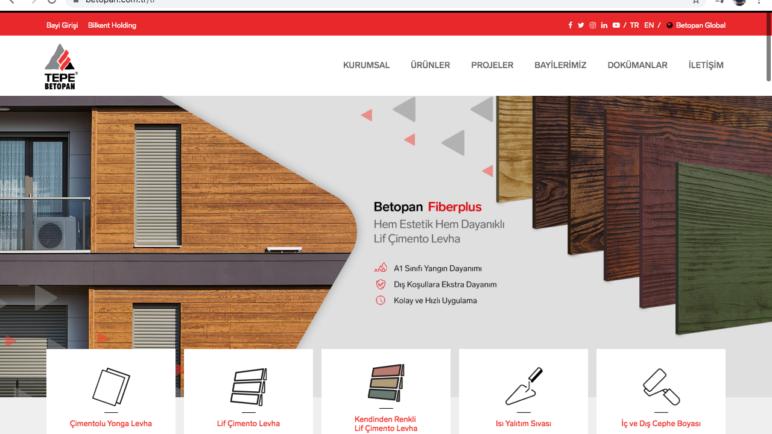 Web sitesi tasarımı ve yazılımı